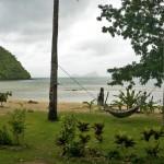LAS CABANAS RESORT – PALAWAN, PHILIPPINES - That's our hammock