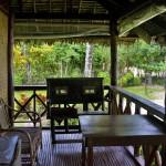 LAS CABANAS RESORT – PALAWAN, PHILIPPINES - The relaxed balcony