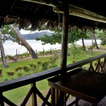 LAS CABANAS RESORT – PALAWAN, PHILIPPINES - The view from our terrasse / balcony