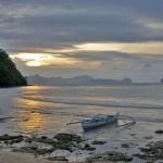 LAS CABANAS RESORT – PALAWAN, PHILIPPINES - A beautiful sunset at a beautiful resort