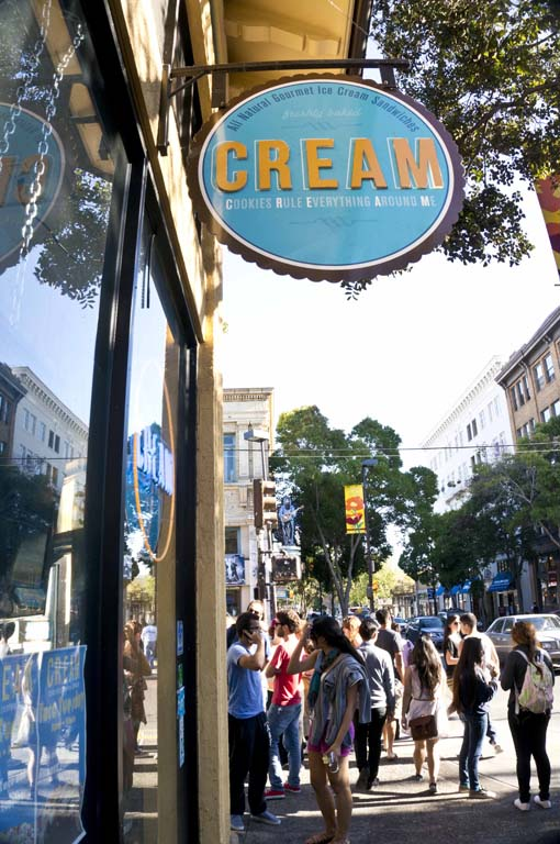 CREAM – BERKELEY, CA – USA - Entrance sign