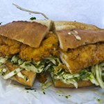 BAKESALE BETTY – OAKLAND, CA – USA - Tasty coleslaw chicken sandwich