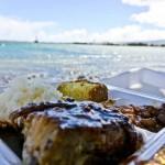 DIBS ON DA RIBS – MAUI, HI – USA - A perfect moment at the beach with some ribs