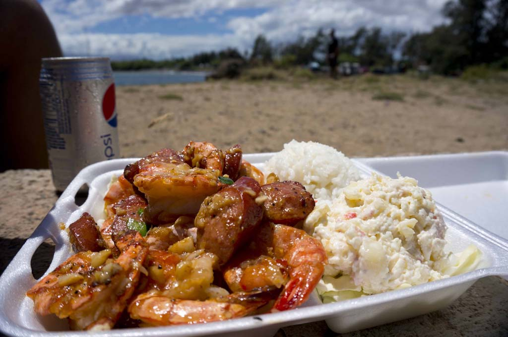 GESTE SHRIMP TRUCK – MAUI, HI – USA - Best shrimps in Maui