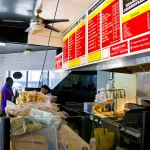 I.B.'S HOAGIES & CHEESESTEAKS – OAKLAND, CA – USA - Counter
