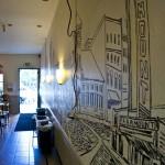 TRUE BURGER – OAKLAND, CA – USA - Art inside the store