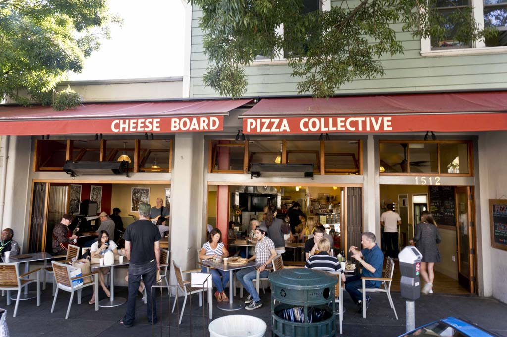 Cheese Board Pizza Collective - Berkley - Store front