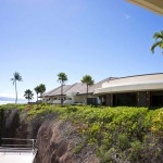 Sheraton Maui - Hawaii - Hotel view on black rock