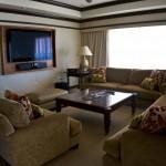 Sheraton Maui - Hawaii - Big LCD Screen presidential suite