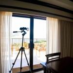Sheraton Maui - Hawaii - Binoculars in the room