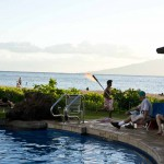 Sheraton Maui - Hawaii - Fire ceremony