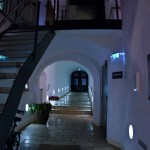 Arthotel Blaue Gans Salzburg - Mood lighting at night