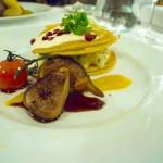 SKOPIK & LOHN – VIENNA, AUSTRIA - Blini with saffron apple