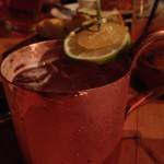 THE THOMAS / FAGIANI'S – NAPA, CA – USA - Moscow mule in copper cup