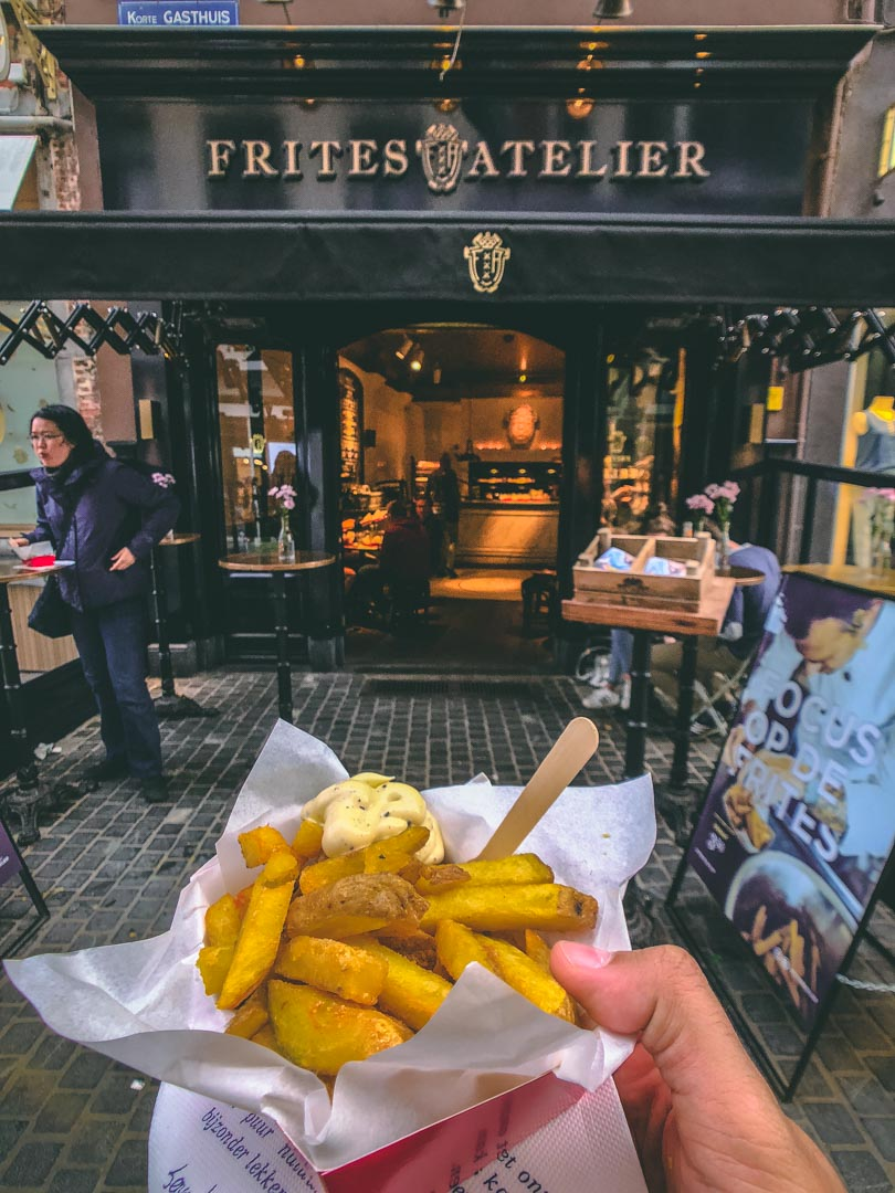 Best Fries in Antwerp
